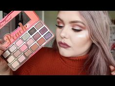 Too Faced Sweet Peach Palette Tutorial | jarnahpaige - YouTube