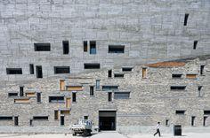 Iwan Baan shows 23 photos of Ningbo Historic Museum designed by Wang Shu.