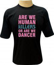Camiseta The Killers Human - Camisetas Personalizadas, Engraçadas e Criativas
