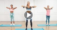 Effective Cardio Workouts In Only 20 Minutes. The perfect exercise regimen is one that combines strength training and some type of cardio. The problem is, many people hate doing cardio and will compris 30 Minute Cardio Workout, Toning Workouts, Aerobic Exercises, Good Cardio Workouts, Arm Toning, Compound Exercises, Body Exercises, Aerobics Workout, Fitness Exercises