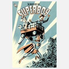 Adventures of Superboy, $29, now featured on Fab.