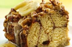 Banana Pecan Breakfast Buns - Start your morning in style - The Gardening Cook