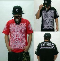 Fashion Personalized Last Kings Printing Rock T-shirt Skateboard Pure Cotton Short-sleeve T-shirt