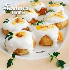 This domain may be for sale! Appetizer Salads, Appetizers, Turkish Recipes, Ethnic Recipes, Turkish Kitchen, Pasta, Turkish Delight, Flan, Brunch