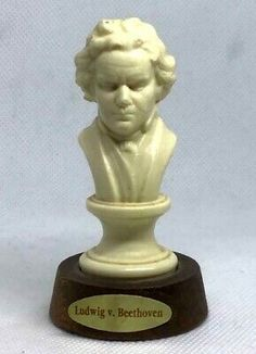 Find many great new & used options and get the best deals for Vintage Bust Ludwig.v.Beethove Sculpture Figurine Plastic Wood Base Art Rare at the best online prices at eBay! Free shipping for many products!