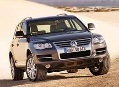 Volkswagen Toureg, one of my favorite SUVs--and trust me, I don't like too many.