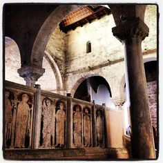 The ancient Cathedral of San Ciriaco, on the top of Ancona #bellavallone  L'antica cattedrale di San Ciriaco, sulla cima di Ancona #destinazionemarche