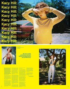 Kacy Hill - Crack Magazine Issue 78