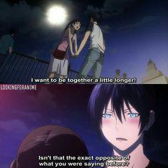 Hiyori and Yato - Noragami Yato And Hiyori, Noragami Anime, Anime Naruto, Nisekoi, Hyouka, I Love Anime, All Anime, Manga Anime, Yatori