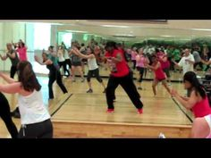 LiftTime Fitness Cardio Kickboxing Class - YouTube.  Awesome workout!!