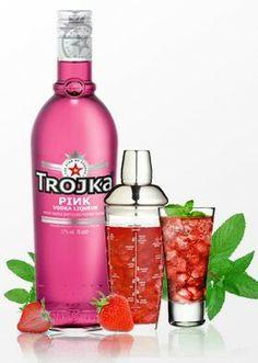 Pink wodka
