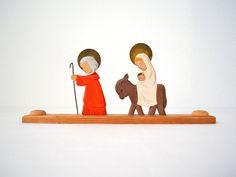 I want an orthodox style nativity like this!  It's a candle holder and it's so cute!  This is $19 on Etsy....