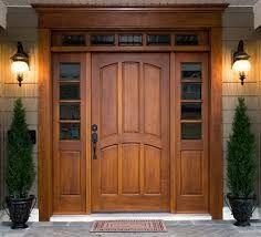 Resultado de imagen para puertas de madera exterior rusticas