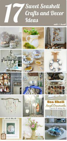 17 Amazing Seashell Craft Ideas - Table & Hearth on Hometalk