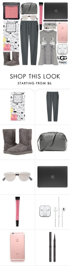 """""""The Icon Perfected: UGG Classic II Contest Entry"""" by foundlostme ❤ liked on Polyvore featuring Uniqlo, UGG Australia, Bottega Veneta, RetroSuperFuture, Incase, Victoria's Secret, Burberry, Chantecaille, ugg and contestentry"""