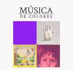 Esta semana te compartimos una compilación musical dedicada a los colores que nos rodean.