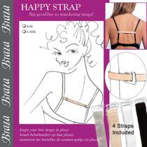 """Braza """"Happy Straps""""  #happystraps #braza #unmentionables #modesty"""