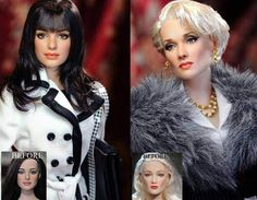 Celebrity dolls finally look like their celebs thanks to Noel Cruz