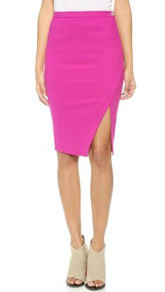 bd52279c7 Elizabeth and James Bardot Skirt Pink Pencil Skirt, Color Shapes, The  Struts, Elizabeth