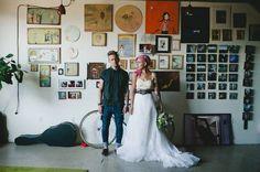 grunge wedding