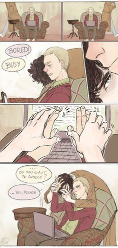 I'm going to explode with feels!! SO FREAKING CUTE!!!! I love Johnlock <3