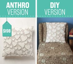 Get that shabby chic Anthro look at a fraction of the price.
