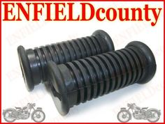 NEW ROYAL ENFIELD BULLET PAIR FOOTREST RUBBER