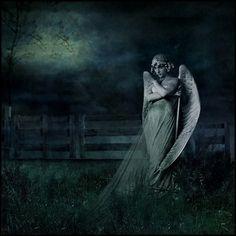 Dark Art Print- In the Garden by Melissa Nucera  esty.com