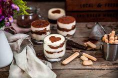 TIRAMISU CHOCOLAT EN VERRINE AUX BOUDOIRS BONNETERRE - Bonneterre