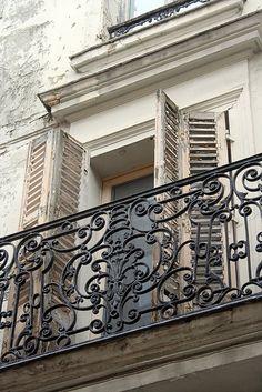 Balcony in Marly Le Roi, France