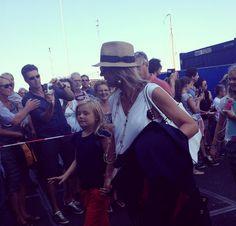 Koningin Máxima tijdens Sail 2015 (2) | ModekoninginMaxima.nl