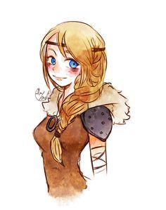Astrid doodle by Lime-Hael on DeviantArt