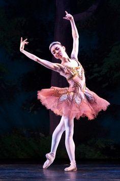 Ballerina Hee Seo as Aurora in Sleeping Beauty - American Ballet Theater Ballet Poses, Ballet Art, Ballet Dancers, American Ballet Theatre, Ballet Theater, Ballet Class, Ballet Costumes, Dance Costumes, Sleeping Beauty Ballet