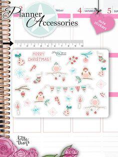 Sticker - Weihnacht Sticker Set NR1315 - ein Designerstück von PlannerAccessories bei DaWanda