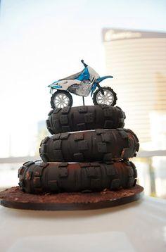 Motocross cake!