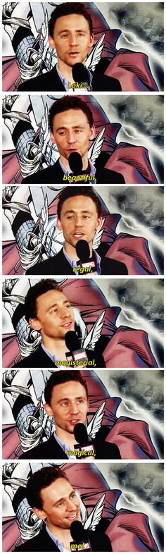 [gifset] #TomHiddleston