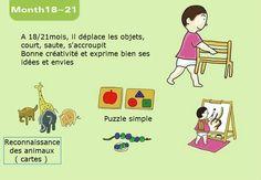 Le développement de l'enfant 0-3ans #montessori Montessori Preschool, Montessori Education, Reggio Emilia, Toddler Learning Activities, Tonne, Gentle Parenting, Play To Learn, Baby Play, Child Development