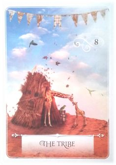 The Tribe ~ Wisdom of the Oracle divination card by Colette Baron-Reid