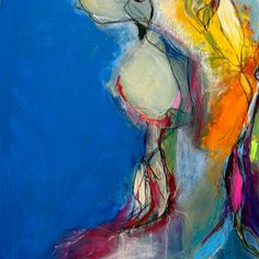 m. a. wakely #colorful #abstract #art