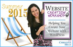Registration is Open for the Website Creation Summer Camp 2015!