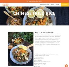 Avanti Cafe Musings: Chinese Fried Rice :: Chef Mark Cleveland @ Hungry...