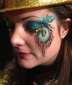 Peacock eye art