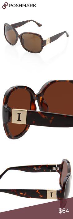68eff45706 ISAAC MIZRAHI Oversized Tortoise Sunglasses. Gorgeous designer sunglasses  from Isaac Mizrahi s New York™ style