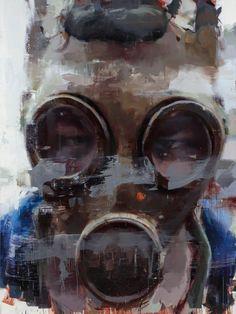 Jerome Lagarrigue, Portrait of an Unknown Protester, 2017   Lazinc