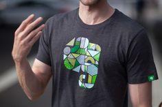 Wear your colors. An Evernote Market original T-shirt design.