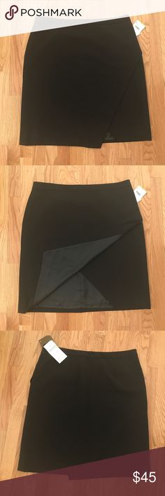Nipon Boutique • Black Asymmetrical Skirt Black Asymmetrical skirt • fully lined • back zipper • 97% polyester • 3% elastane • dry clean Nipon Boutique Skirts Asymmetrical