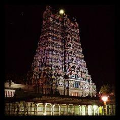 Meenakshi Amman Temple in Madurai, Tamilnadu