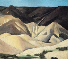 pinkpagodastudio: Georgia O'Keeffe-- The Faraway