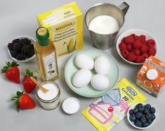 Pavlova med eggekrem | Oppskrift - MatPrat Anna Pavlova, Cheese, Breakfast, Desserts, Food, Morning Coffee, Meal, Deserts, Essen