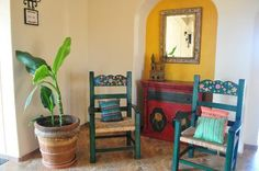 Hacienda Encantada Resort & Spa: Decor added to the Mexican ambience